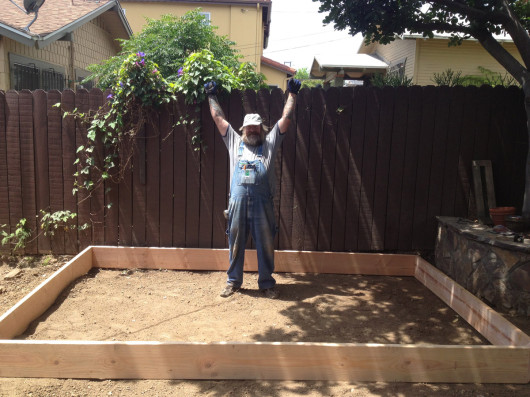Cliff Wagner and the Sacred Garden Sandbox